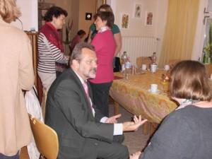 Diskussion mit Franz Thönnes